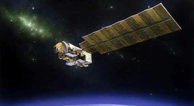 Artist's Rendering of the Aura Spacecraft