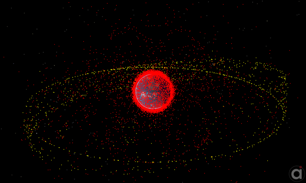 FreeFlyer Simulation of Available Space Catalog
