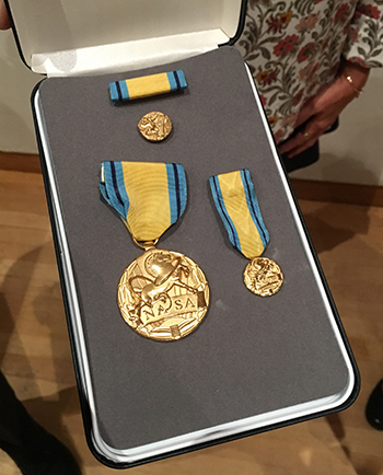 NASA Early Career Public Services Medal
